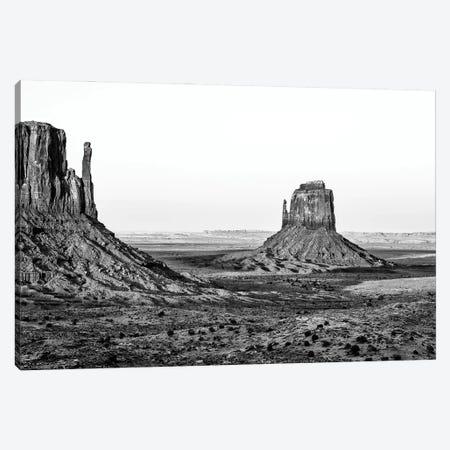 Black Arizona Series - Monument Valley Navajo Tribal Park III Canvas Print #PHD1704} by Philippe Hugonnard Canvas Art Print