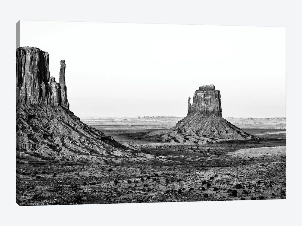 Black Arizona Series - Monument Valley Navajo Tribal Park III by Philippe Hugonnard 1-piece Canvas Art Print