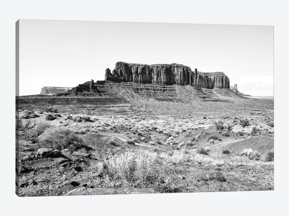 Black Arizona Series - Monument Valley Navajo Tribal Park IV by Philippe Hugonnard 1-piece Canvas Art