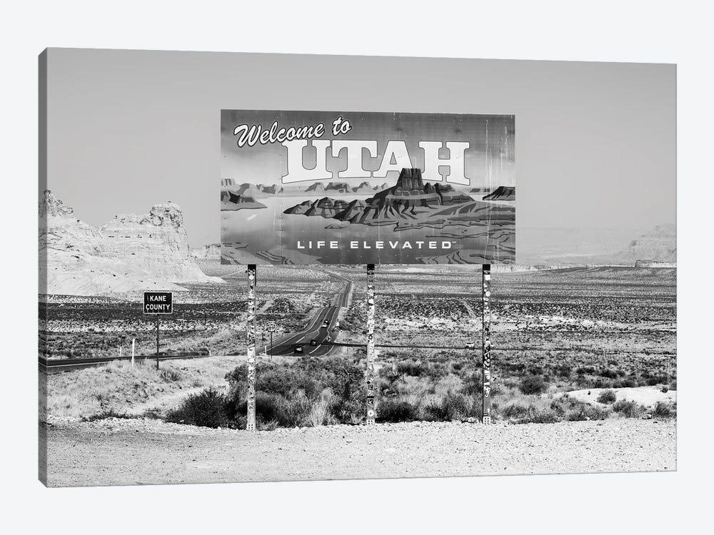 Black Arizona Series - Welcome by Philippe Hugonnard 1-piece Canvas Art Print