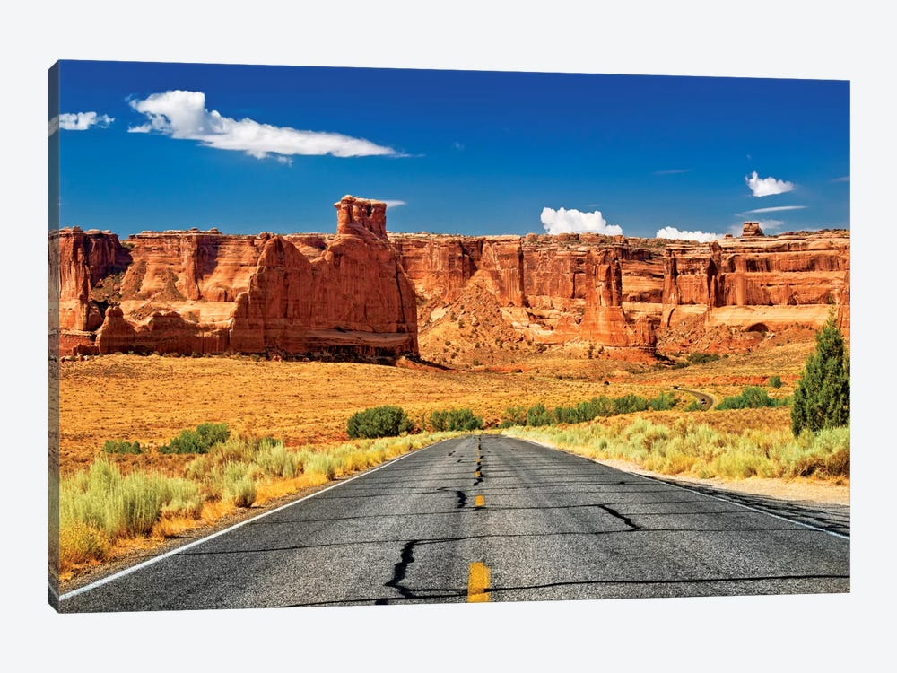 Scenic Drive by Philippe Hugonnard 1-piece Canvas Wall Art