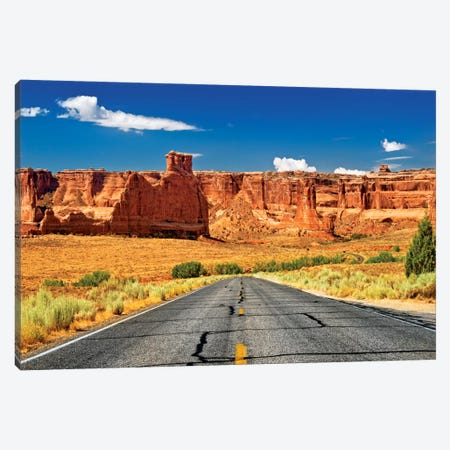 Scenic Drive Canvas Print #PHD170} by Philippe Hugonnard Canvas Wall Art