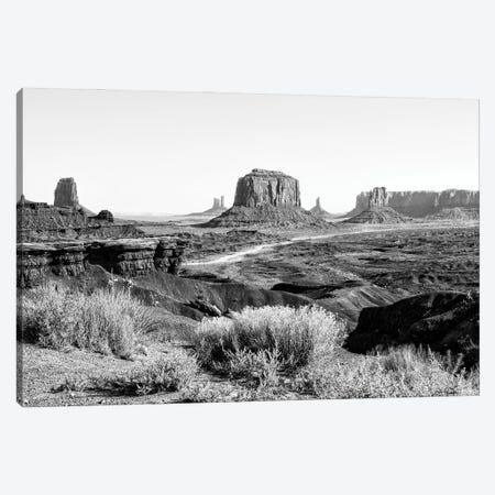 Black Arizona Series - Amazing Monument Valley II Canvas Print #PHD1710} by Philippe Hugonnard Canvas Art Print