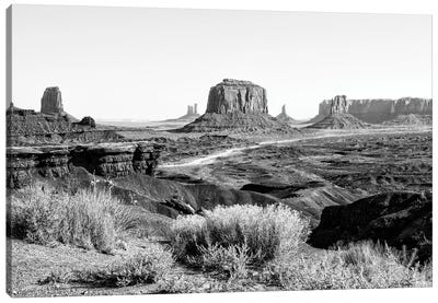 Black Arizona Series - Amazing Monument Valley II Canvas Art Print