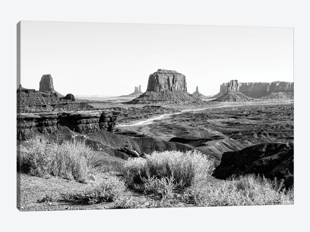 Black Arizona Series - Amazing Monument Valley II by Philippe Hugonnard 1-piece Canvas Wall Art