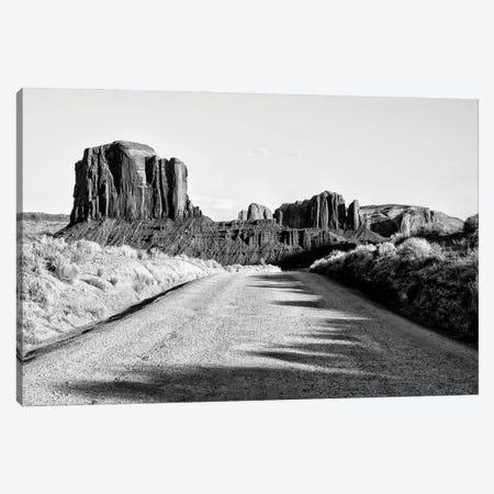 Black Arizona Series - Monument Valley Navajo Tribal Park V Canvas Print #PHD1713} by Philippe Hugonnard Canvas Art Print