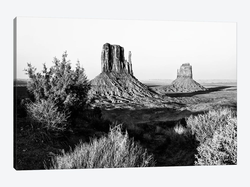 Black Arizona Series - Monument Valley X by Philippe Hugonnard 1-piece Canvas Wall Art