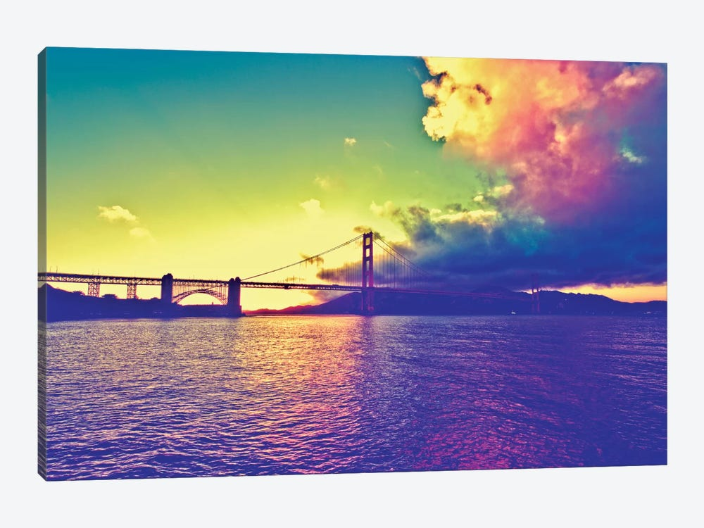 Sunset on the Bridge by Philippe Hugonnard 1-piece Art Print