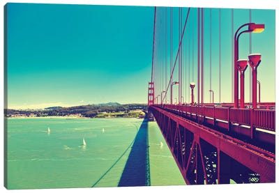 The Golden Gate Bridge Canvas Print #PHD172