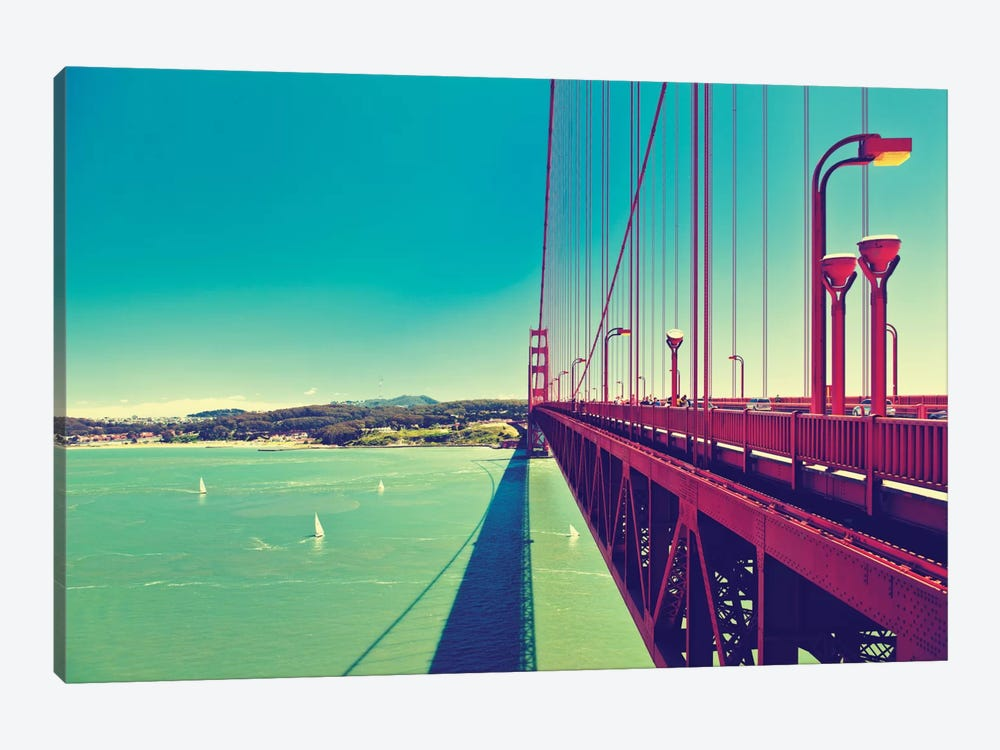 The Golden Gate Bridge by Philippe Hugonnard 1-piece Canvas Art