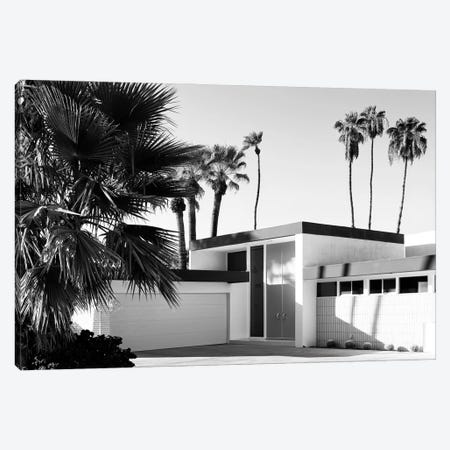 Black California Series - Palm Springs House Canvas Print #PHD1737} by Philippe Hugonnard Canvas Art