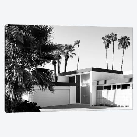 Black California Series - Palm Springs House Canvas Print #PHD1737} by Philippe Hugonnard Canvas Art