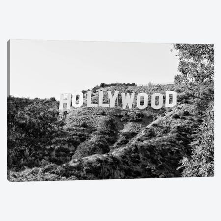 Black California Series - The Hollywood Sign Canvas Print #PHD1738} by Philippe Hugonnard Canvas Print