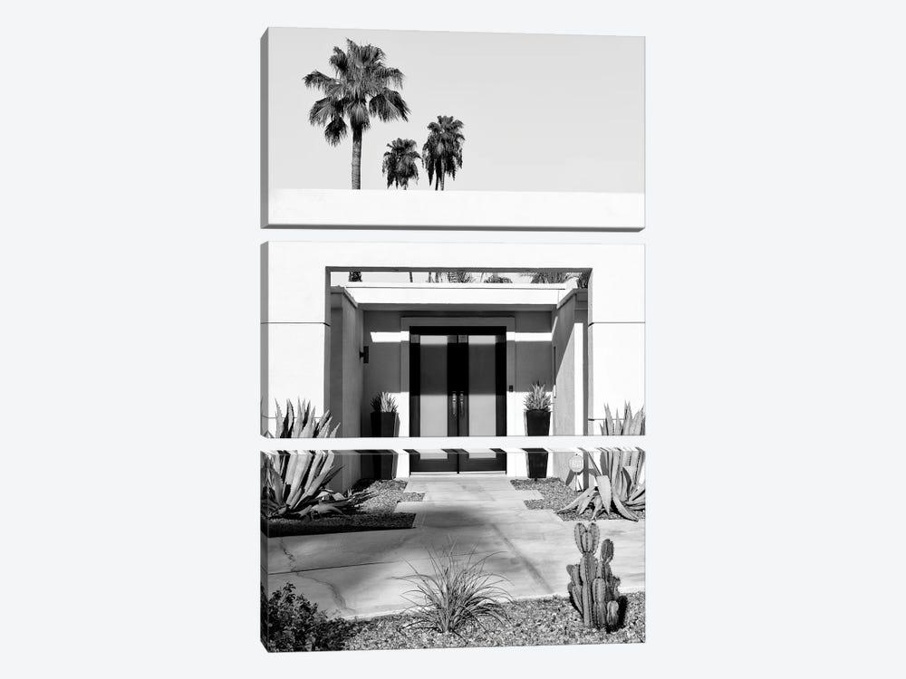 Black California Series - Desert Modernism Palm Springs by Philippe Hugonnard 3-piece Canvas Art Print