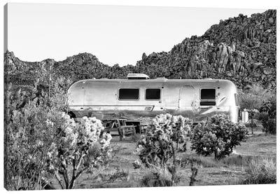 Black California Series - Airstream Life Canvas Art Print