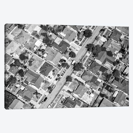 Black California Series - L.A Residential District Canvas Print #PHD1747} by Philippe Hugonnard Canvas Print