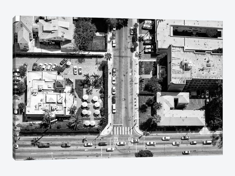 Black California Series - Crossing L.A by Philippe Hugonnard 1-piece Art Print