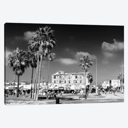 Black California Series - Venice Beach Canvas Print #PHD1756} by Philippe Hugonnard Canvas Wall Art