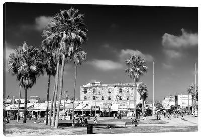 Black California Series - Venice Beach Canvas Art Print