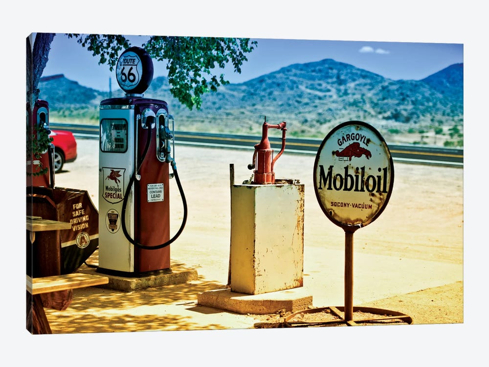 View From A Gas Station Along U.S. Route 66 by Philippe Hugonnard 1-piece Canvas Art