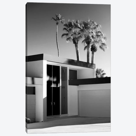Black California Series - Palm Springs Modern Design Canvas Print #PHD1776} by Philippe Hugonnard Canvas Art