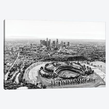 Black California Series - L.A Cityscape Canvas Print #PHD1778} by Philippe Hugonnard Art Print