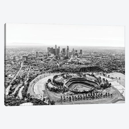 Black California Series - L.A Cityscape Canvas Print #PHD1778} by Philippe Hugonnard Art Print