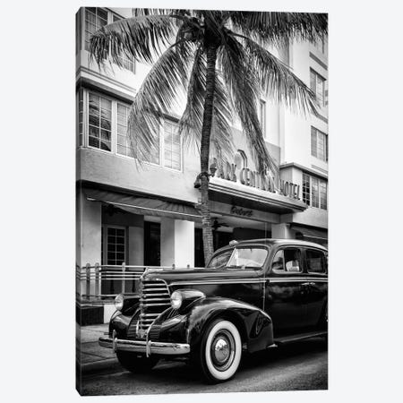 Vintage Car & Art Deco District Canvas Print #PHD177} by Philippe Hugonnard Canvas Art Print