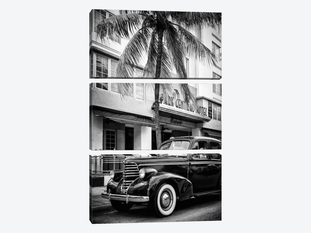 Vintage Car & Art Deco District by Philippe Hugonnard 3-piece Canvas Print