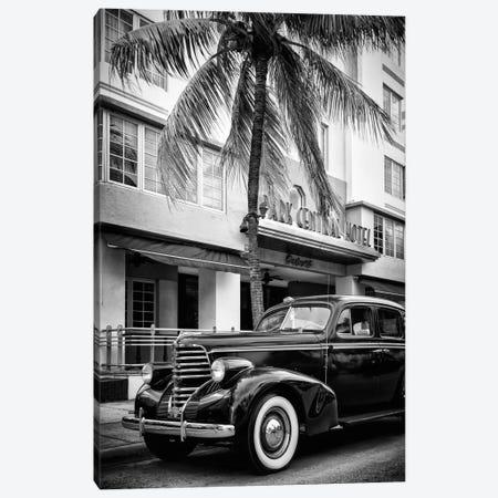 Vintage Car & Art Deco District Canvas Print #PHD177} by Philippe Hugonnard Canvas Art Print