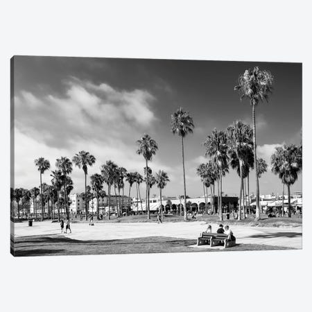 Black California Series - Summer At Venice Beach Canvas Print #PHD1782} by Philippe Hugonnard Canvas Artwork