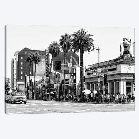 Black California Series - Hollywood Highland Canvas Print #PHD1790} by Philippe Hugonnard Canvas Art Print