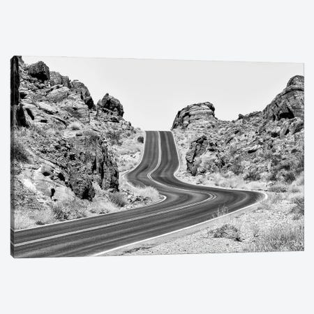 Black Nevada Series - On The Road Canvas Print #PHD1899} by Philippe Hugonnard Canvas Artwork