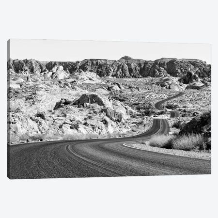 Black Nevada Series - Valley Of Fire State Park Canvas Print #PHD1900} by Philippe Hugonnard Canvas Art