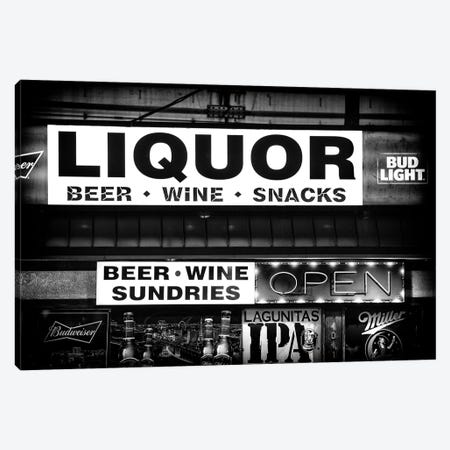 Black Nevada Series - Liquor Canvas Print #PHD1906} by Philippe Hugonnard Canvas Print
