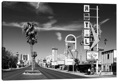 Black Nevada Series - Vintage Las Vegas Canvas Art Print
