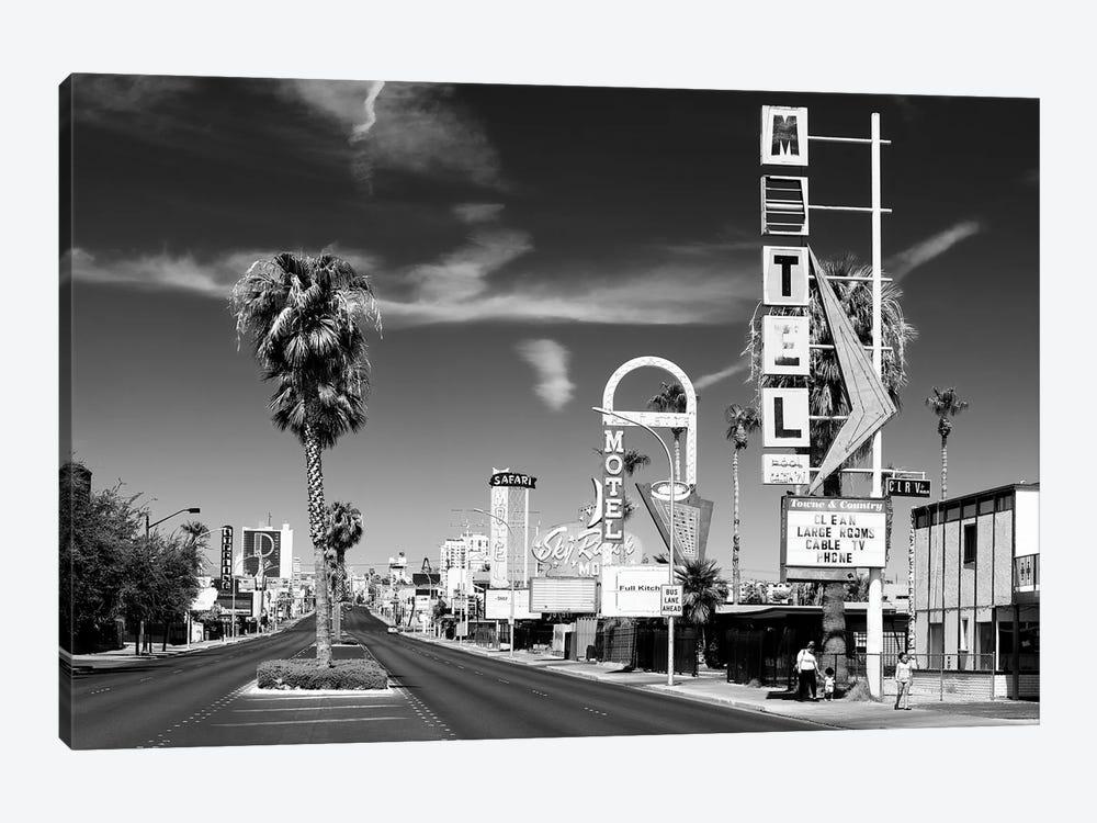 Black Nevada Series - Vintage Las Vegas by Philippe Hugonnard 1-piece Canvas Artwork