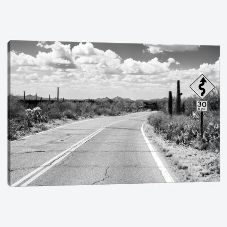 Black Nevada Series - Road Trip Canvas Print #PHD1916} by Philippe Hugonnard Canvas Wall Art