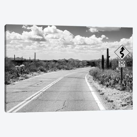 Black Nevada Series - Road Trip Canvas Print #PHD1916} by Philippe Hugonnard Canvas Wall Art