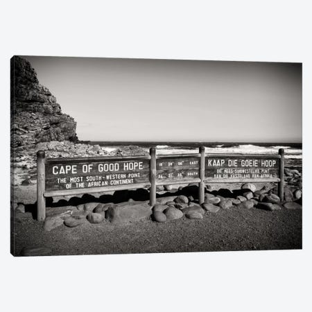 Cape of Good Hope Sign Canvas Print #PHD191} by Philippe Hugonnard Canvas Wall Art