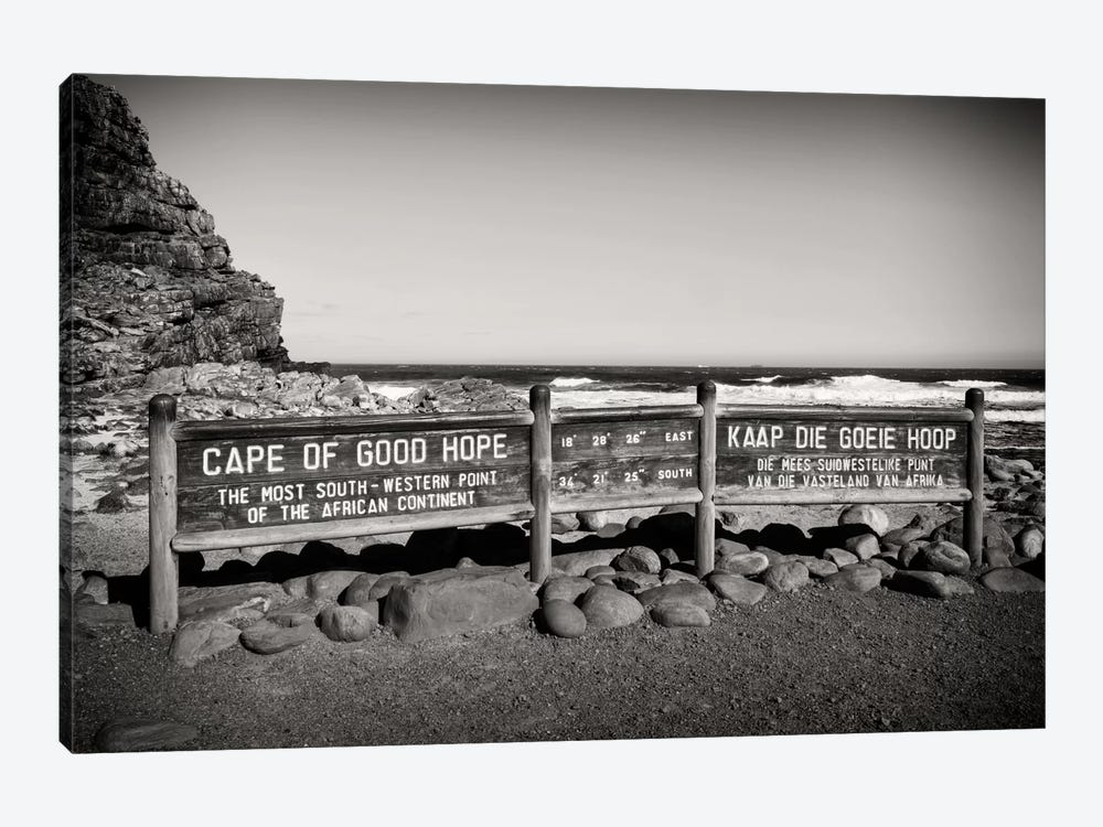 Awesome South Africa Series: Cape of Good Hope Sign by Philippe Hugonnard 1-piece Art Print