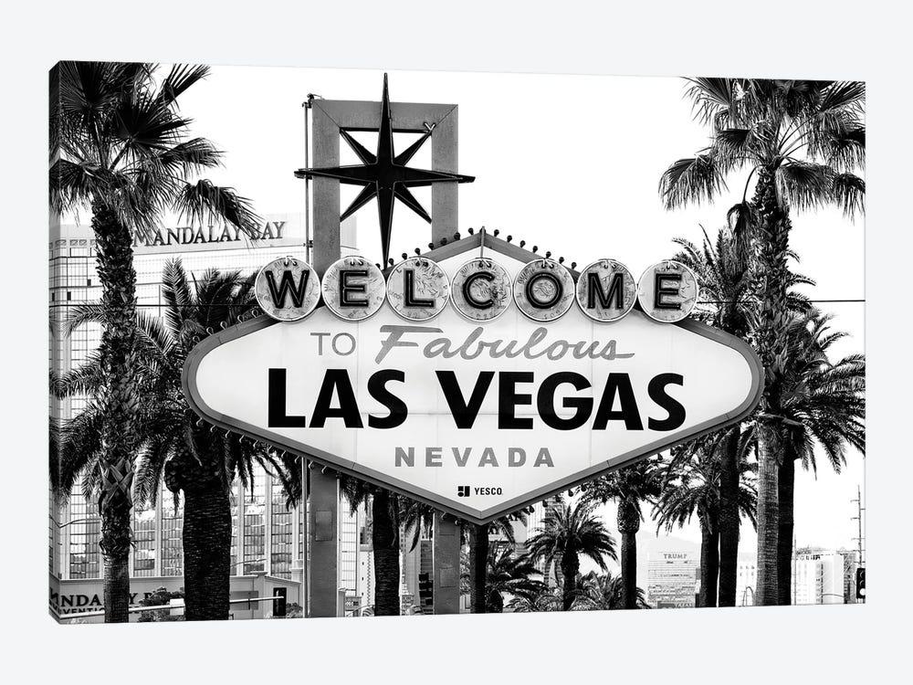 Black Nevada Series - Welcome To Fabulous Las Vegas by Philippe Hugonnard 1-piece Art Print