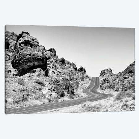 Black Nevada Series - Scenic Road Canvas Print #PHD1926} by Philippe Hugonnard Canvas Art Print