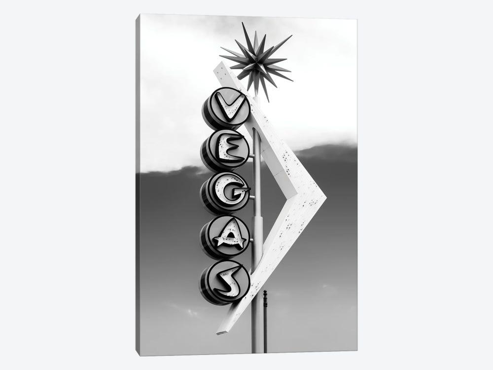 Black Nevada Series - Vegas by Philippe Hugonnard 1-piece Canvas Print