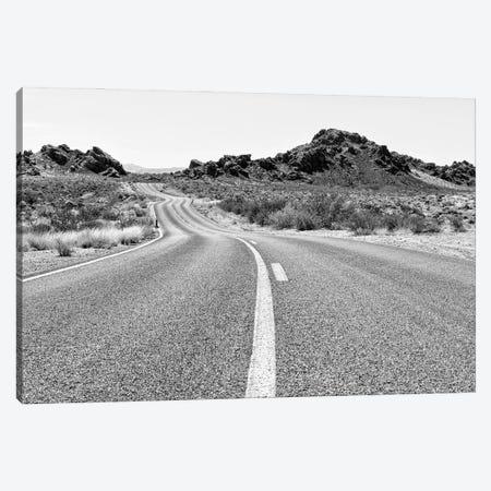 Black Nevada Series - Road In The Desert Canvas Print #PHD1936} by Philippe Hugonnard Canvas Art
