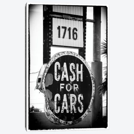 Black Nevada Series - Cash For Cars Canvas Print #PHD1937} by Philippe Hugonnard Canvas Wall Art