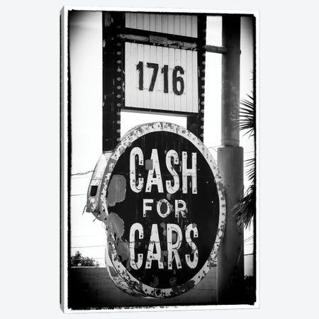 Black Nevada Series - Cash For Cars Canvas Print #PHD1937} by Philippe Hugonnard Canvas Wall Art
