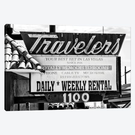 Black Nevada Series - Travelers Canvas Print #PHD1938} by Philippe Hugonnard Art Print