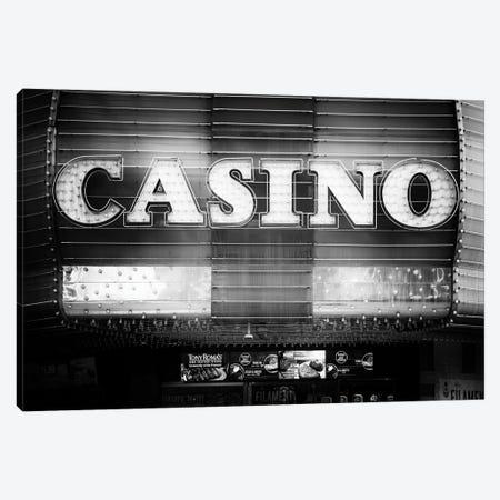 Black Nevada Series - Vegas Casino Canvas Print #PHD1943} by Philippe Hugonnard Canvas Art