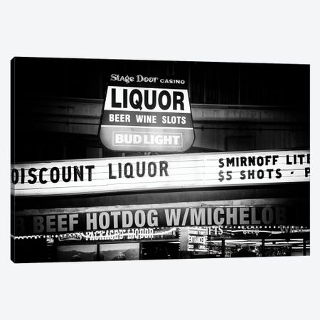 Black Nevada Series - Discount Liquor Canvas Print #PHD1951} by Philippe Hugonnard Art Print